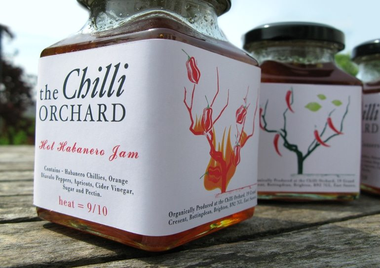 Take a look at the new brand we created for The Chilli Orchard