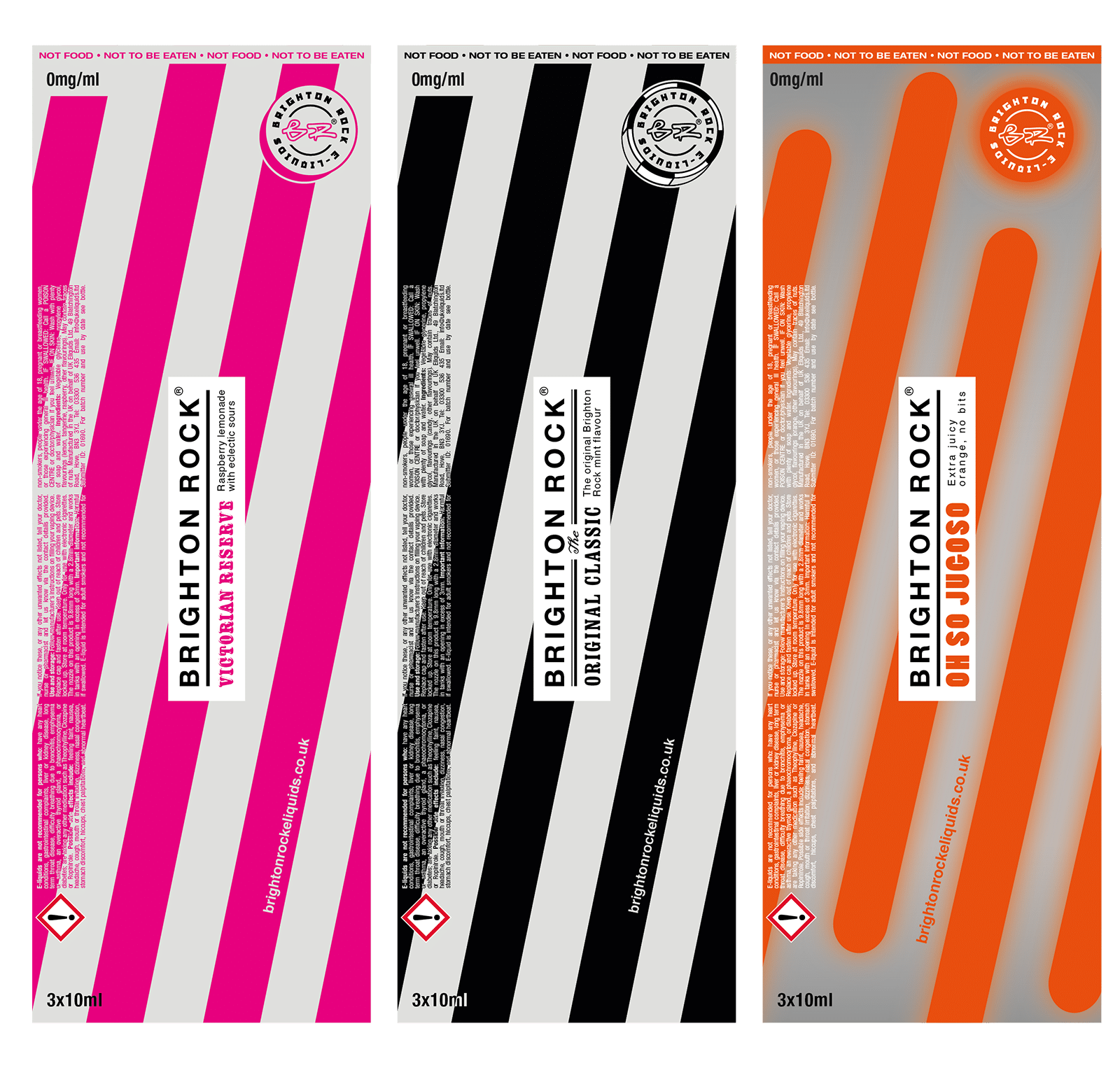 Take a look at our branding design project for Brighton Rock