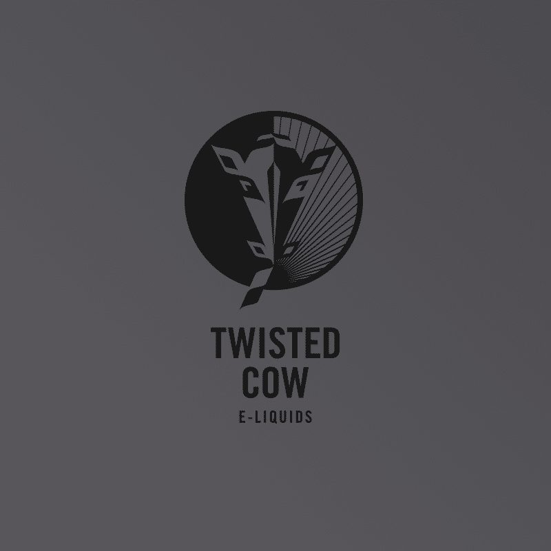 Take a look at our brand design project for Twisted Cow e-liquids